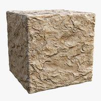 Rock (101p) - Photogrammetry based PBR texture