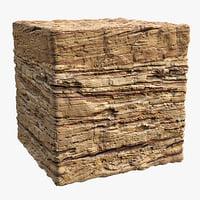 Rock (98l1) - Photogrammetry based PBR texture
