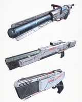 Laser Gun Collection PBR