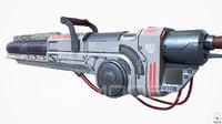 Heavy Laser Gun PBR