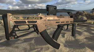 gun pbr 3d max