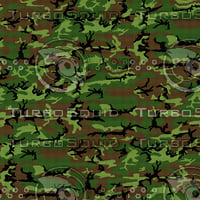 Woodland Leaf - Famous ERDL Pattern