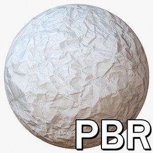 Crumpled Paper PBR