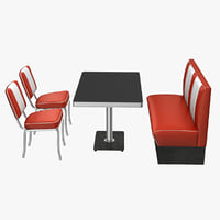 50's Style Diner Furniture