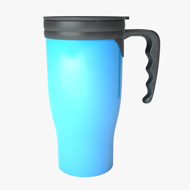 3d travel mug