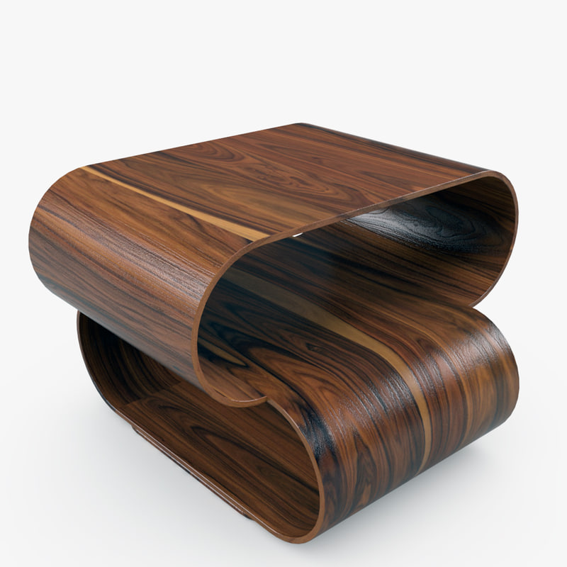 usona coffee table 00165 3d model