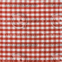 Seamless striped white and red picnic towel