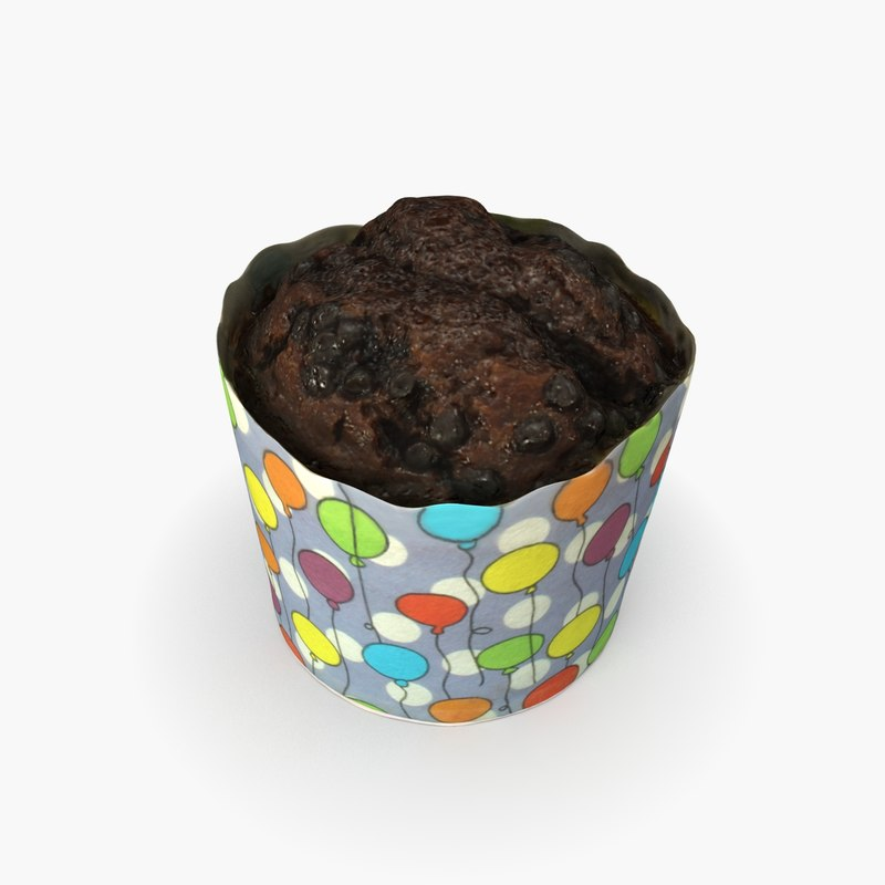 cupcake cup cake 3D model
