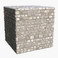 Cobblestone (116) - Photogrammetry based PBR texture