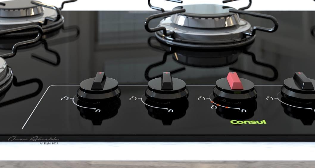3D cooktop consul