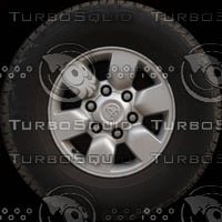 Toyota Hilux wheel