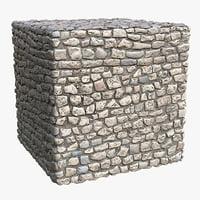 Cobblestone (115) - Photogrammetry based PBR texture