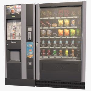 c4d vending machine