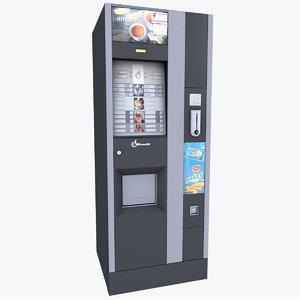 vending machine 3d 3ds