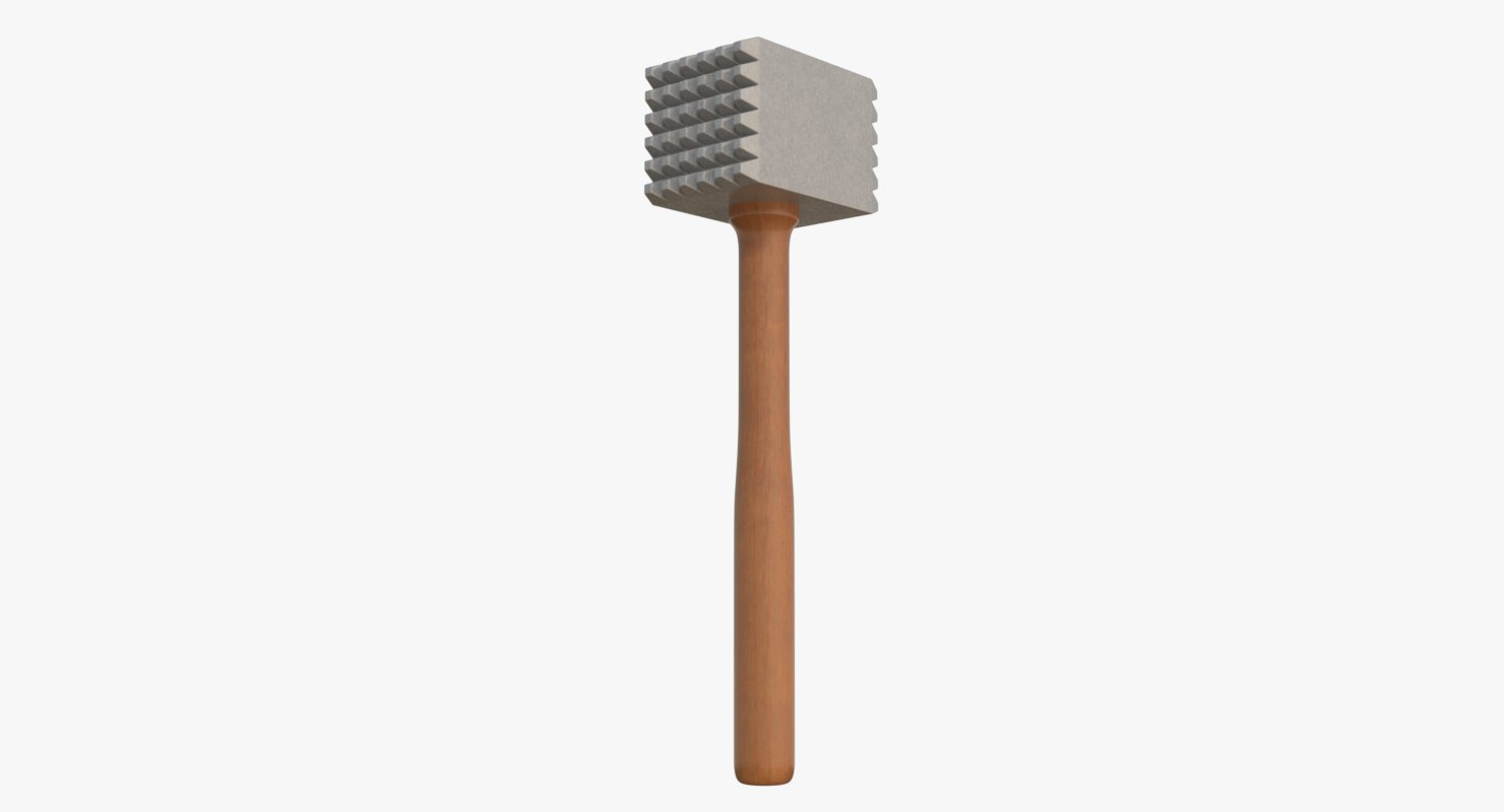 meat tenderizer 3d model