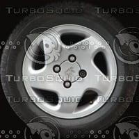Peugeot 306 wheel texture