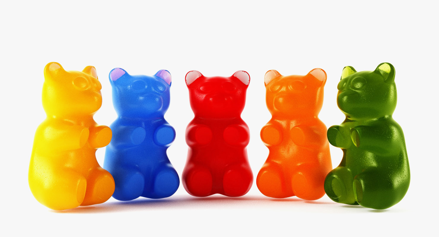 3d 3ds gummy bears