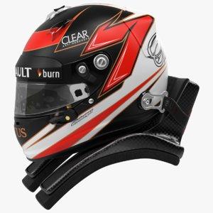 raikkonen 2013 f1 helmet 3d max