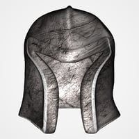 Old helmet (UV mapped)