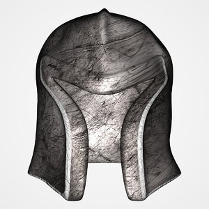 old helmet lightwave 3d model