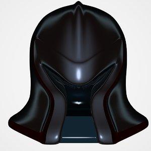 robo helmet lightwave 3d dxf