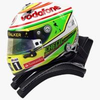 3ds max perez 2013 f1 helmet