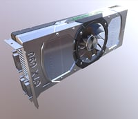 nvidia 690 geforce 3d model
