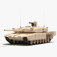 leopard 2 mbt revolution 3d max