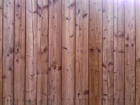 Bare wood planks