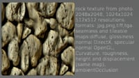 rock wall texture 2048x2048 multi map type
