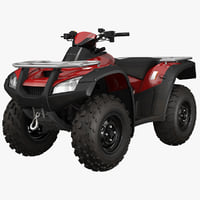 atv bike generic 3d max