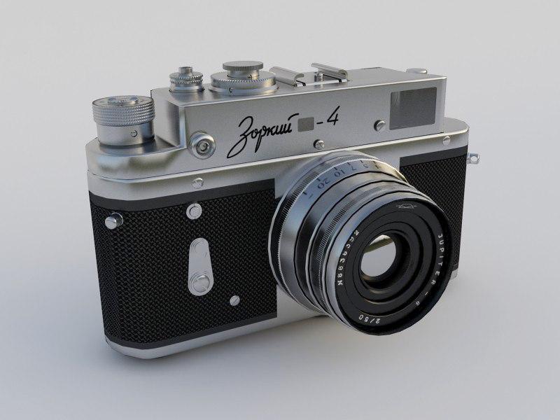 old camera zorki 4 max