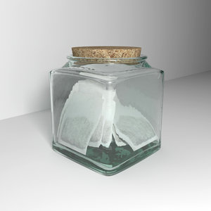 glass tea bag holder max