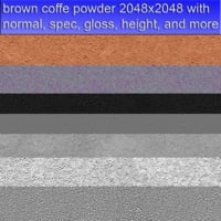 brown coffe powder 2048x2048 seamless and tileable