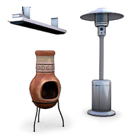 3ds max outdoor heaters