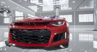 ready modern muscle cars 3D model