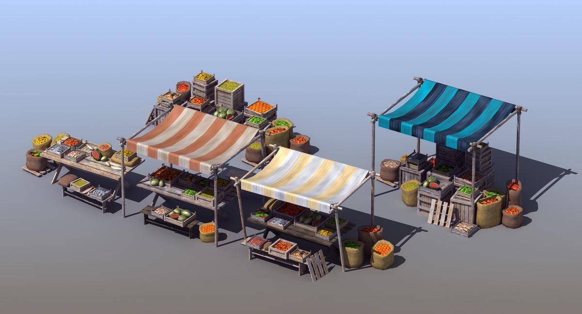 maya market stall