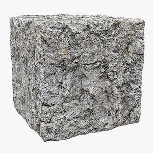 Rock (128) - Photogrammetry based PBR texture