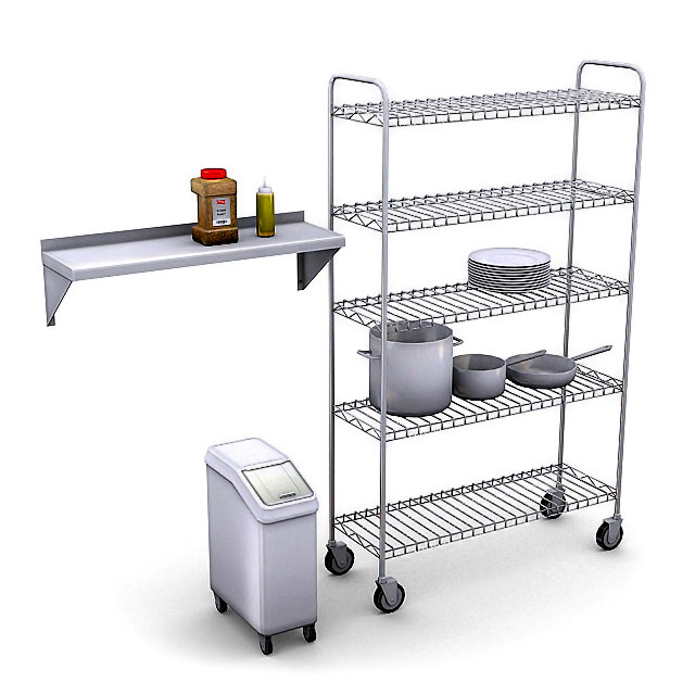 max commercial kitchen pack
