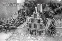 CHRISTMAS DELFT HOUSE 2012 B&W
