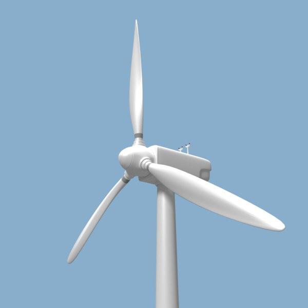 wind turbine 3d 3ds