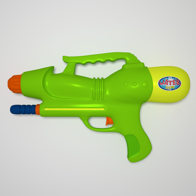 obj water guns