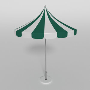 parasol beach umbrella dxf