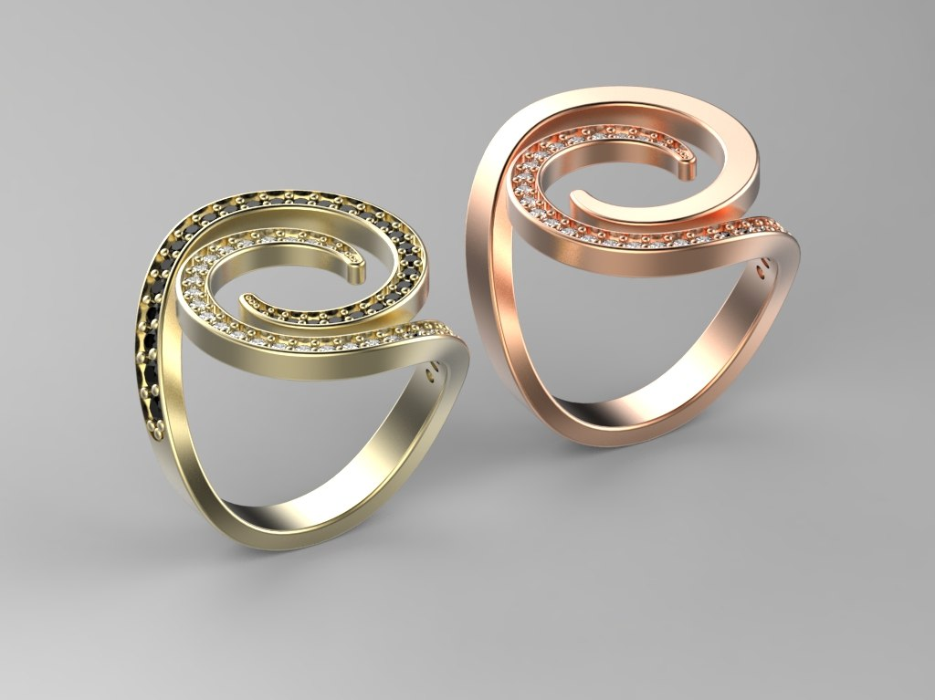 ring fashion 3D model