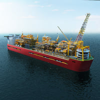 Shell Prelude FLNG Floating Liquefied Natural Gass