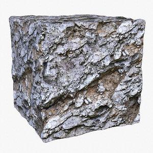 Rock (133) - Photogrammetry based PBR texture