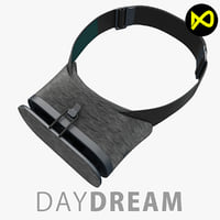3d max google daydream vr headset