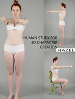 Human Study Photographs For 3d Character creation
