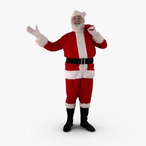 happy santa people human max