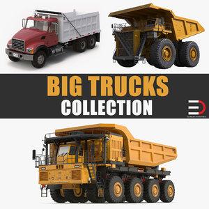 big trucks 3D model